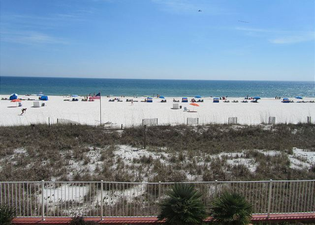 Awesome views of the Gulf of Mexico from this 2nd floor unit