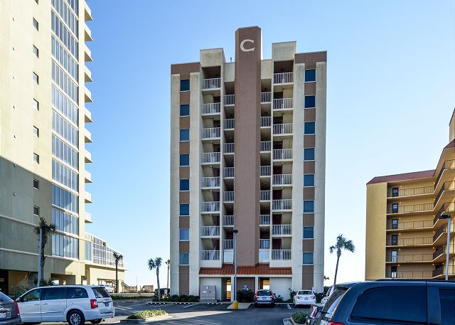 Low density Clearwater complex is located on East Beach in Gulf Shores. The physical address is 517 East Beach Boulevard Gulf Shores. This complex is what we would call in the heart of it all and close to many great restaurants and shops