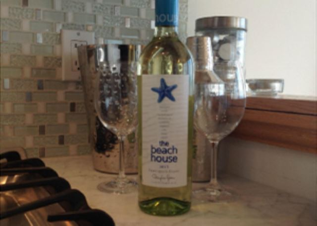Enjoy wine from local vineyards.