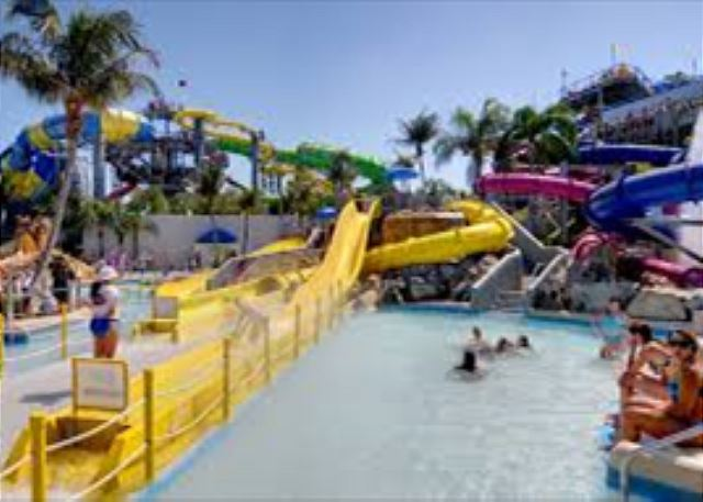 Water park close by