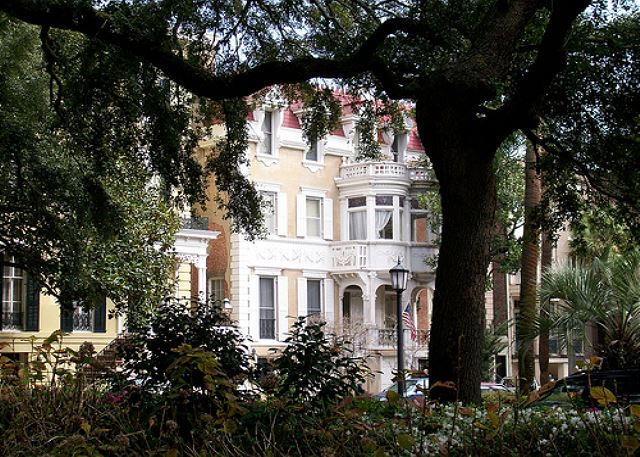View from Monterey Square