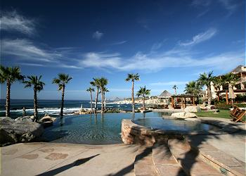 The Punta Ballena beach club, a short golf cart ride away.
