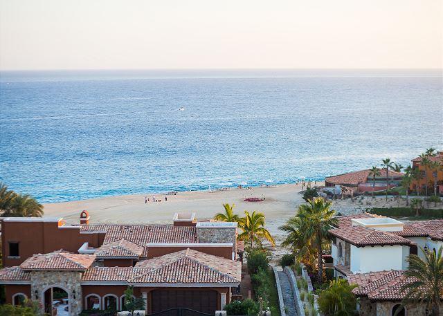 Beach View from Main Terrace