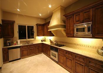 Villa Pamela's fully equipped kitchen.