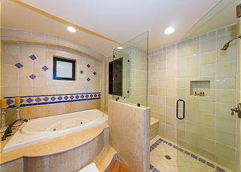 Second Bathroom Jacuzzi Tub and Separate Shower