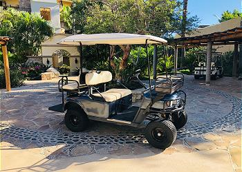 Golf Cart Available for Rent