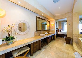 Master Bathoom with Jacuzzi and Separate Shower