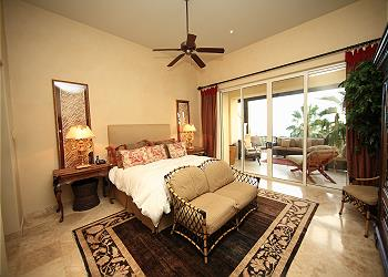 Master Bedroom with Terrace Access and Ocean Views
