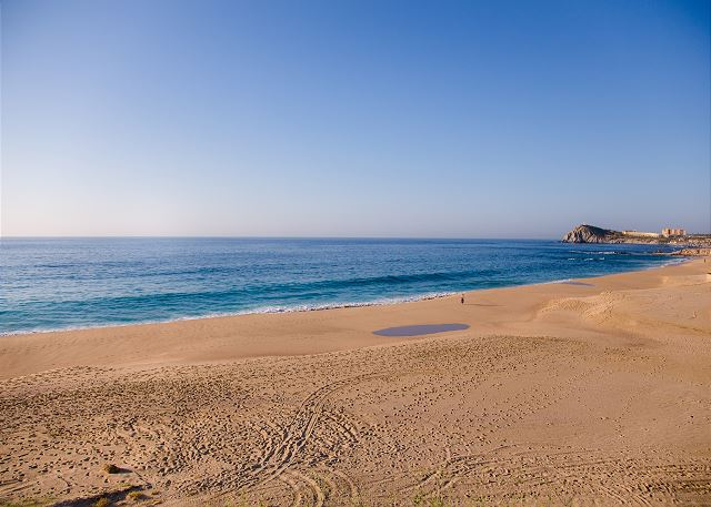 Private Beach in Cabo del Sol