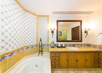 Second Master Bathroom with Tub and Shower
