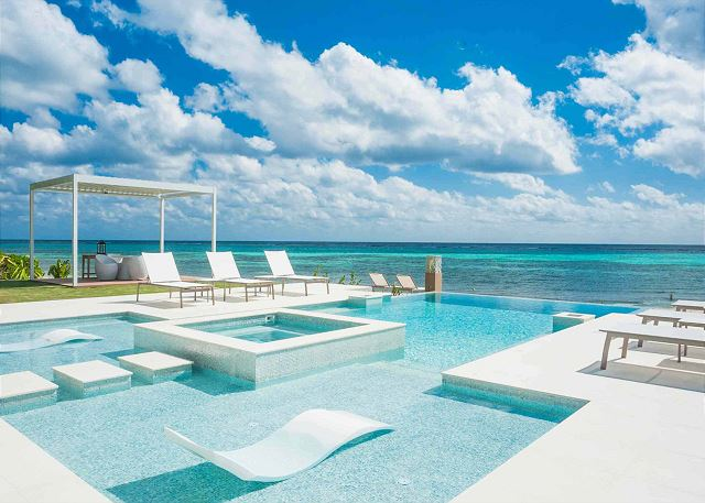 Grand Cayman Villas >> Tranquility Cove Exclusive Vacation Villa Rentals Luxury