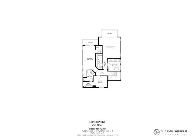 Conch Pointe Floor plan 2