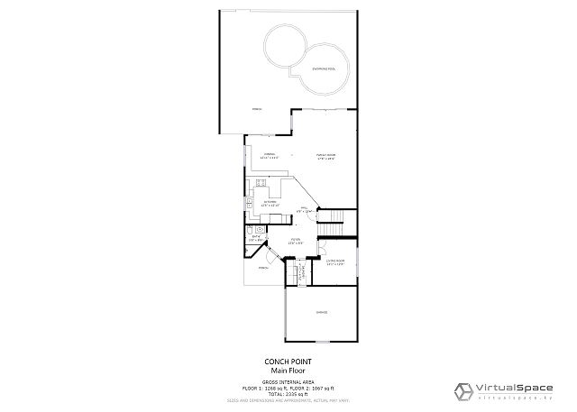 Conch Pointe Floor plan 1
