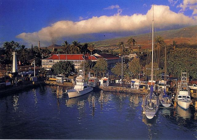 Old whaling town of Lahaina