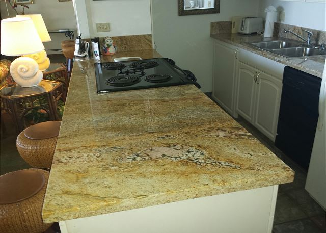 granite counter tops!