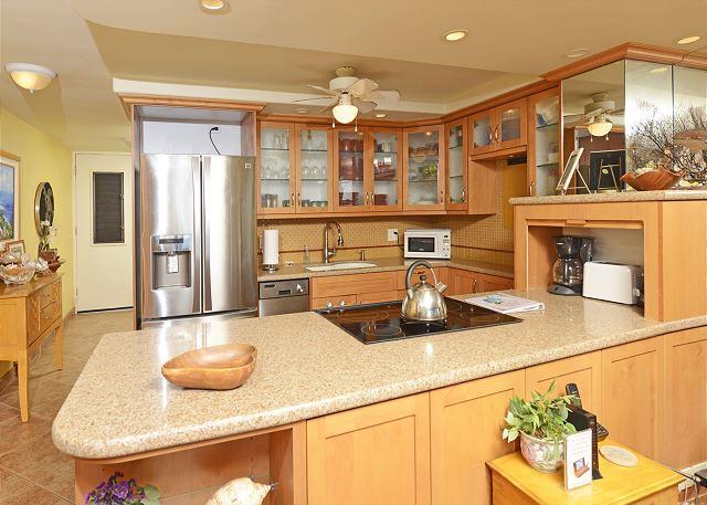 Lovely open kitchen!