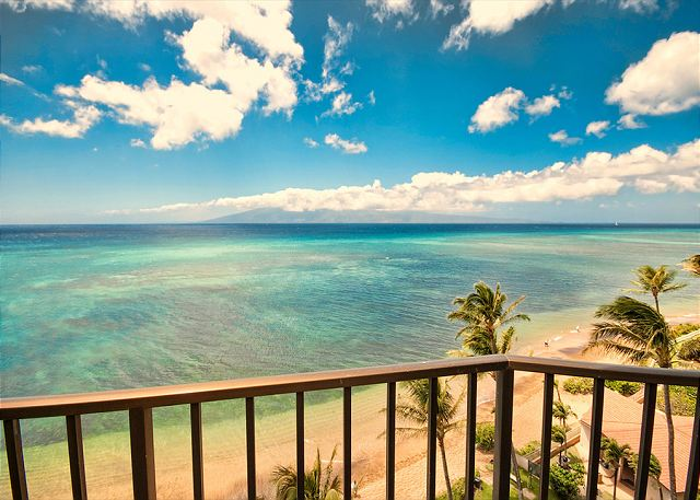 this is your view from your private lanai!