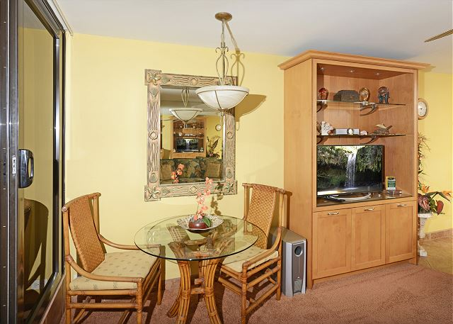 Dinette and built in TV console