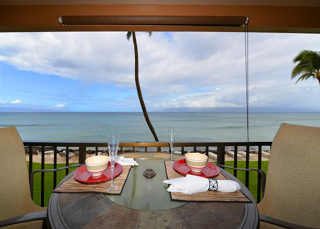 Dine with an ocean view!