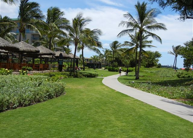 Kaanapali Walking path