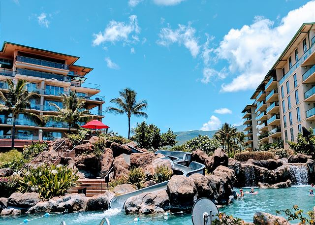 Honua Kai pool slide
