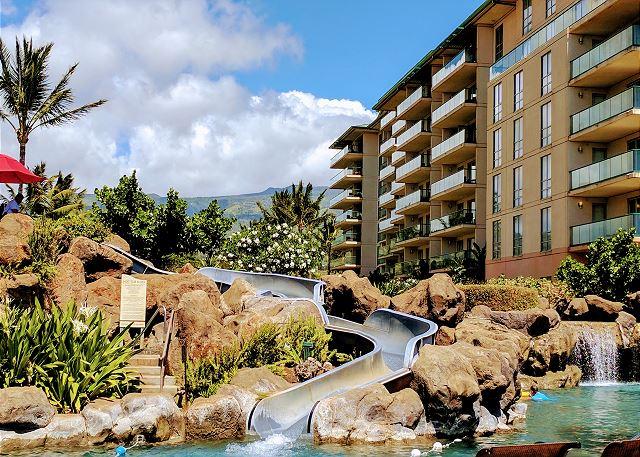Honua Kai Slide Pool