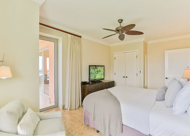 Third Bedroom with access to the lanai