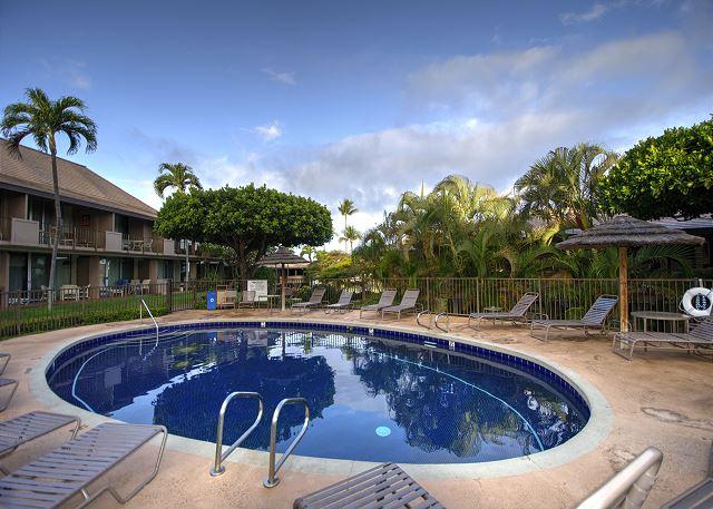 Shared pool at the Maui Eldorado