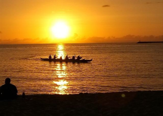 Pokai Bay Sunset