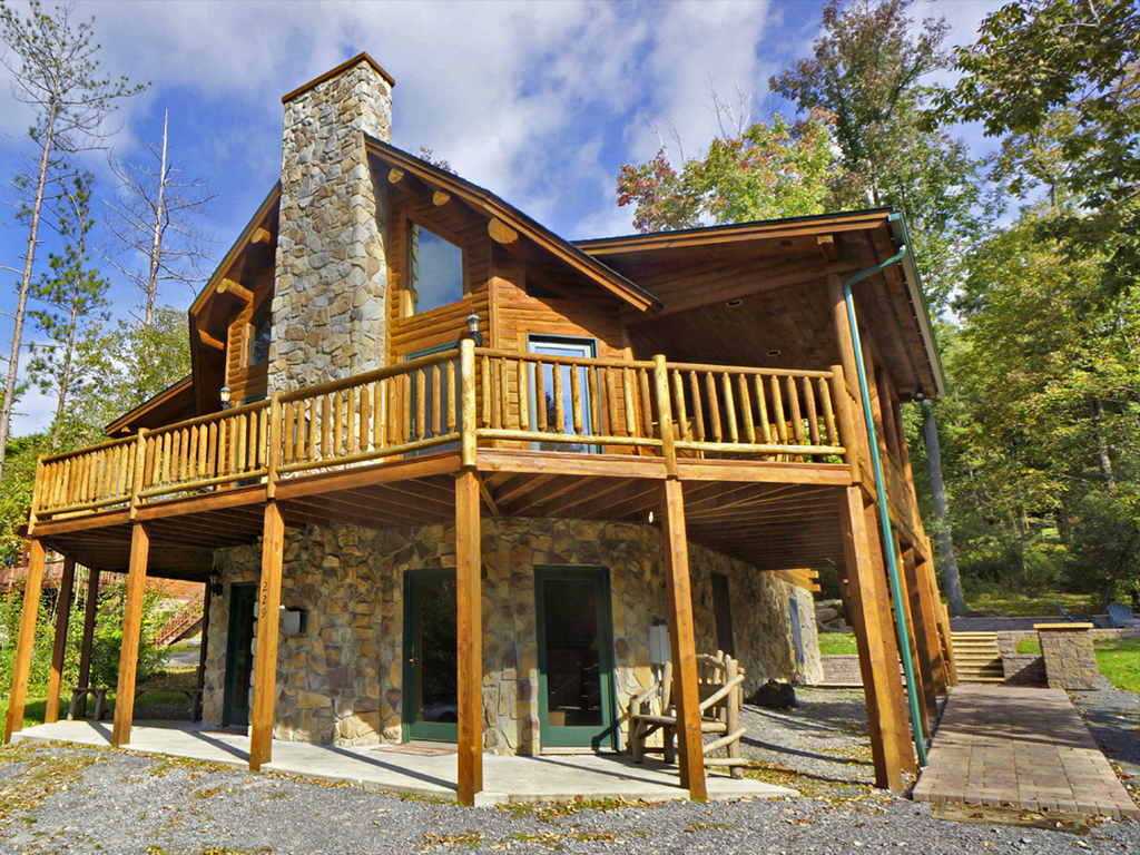 sleeps cabins luray vrbo weekend rentals com rental vacation pin in night from cabin