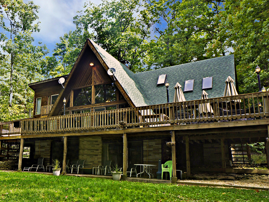 cabin cottage rentals gravelly road run lake cabins cozy vacation creek deep