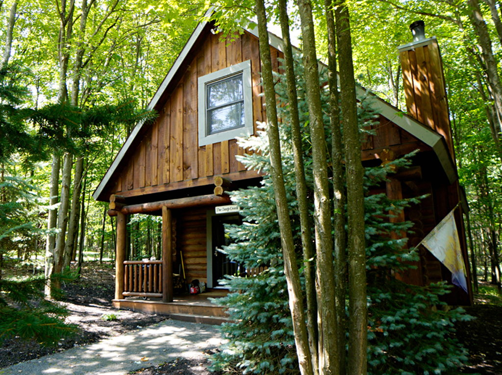 deep rentals vacation bear cabins road north creek glade cubby cabin lake