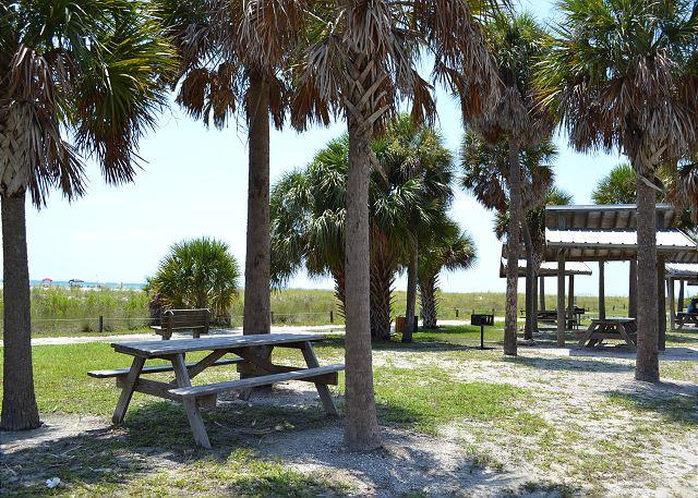 beachside picnic area