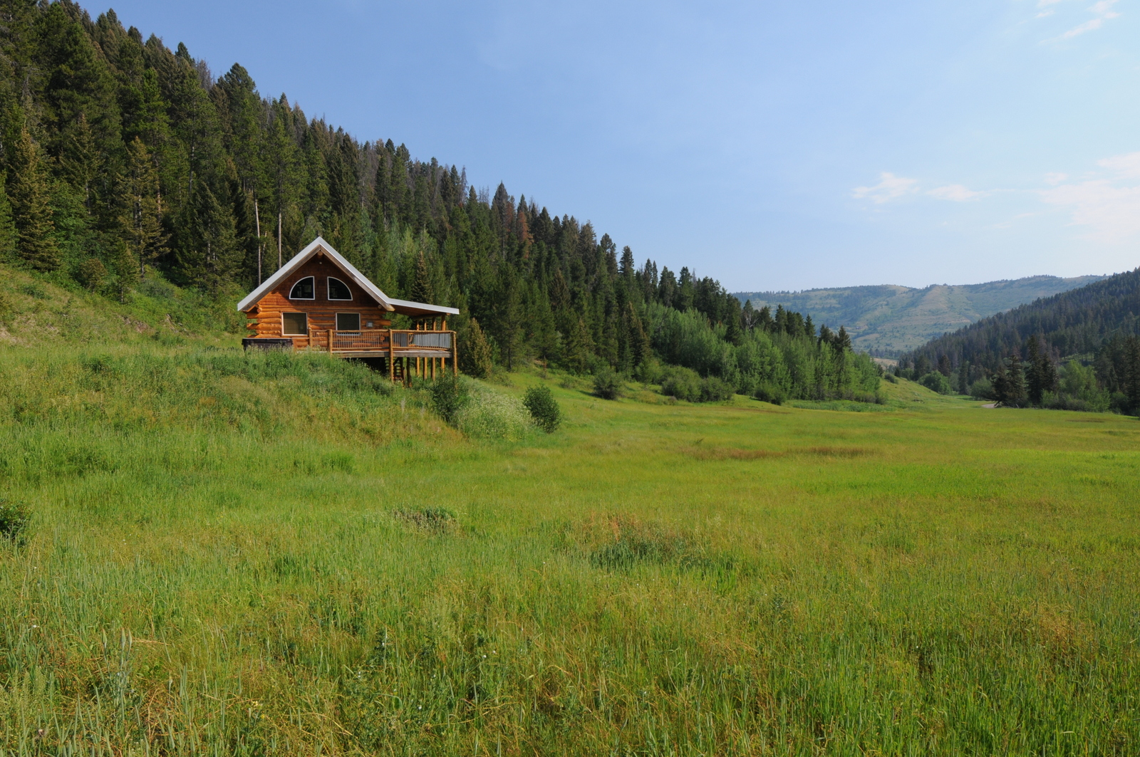 lodge historic welcome cabins front for rent tamarack in montana and