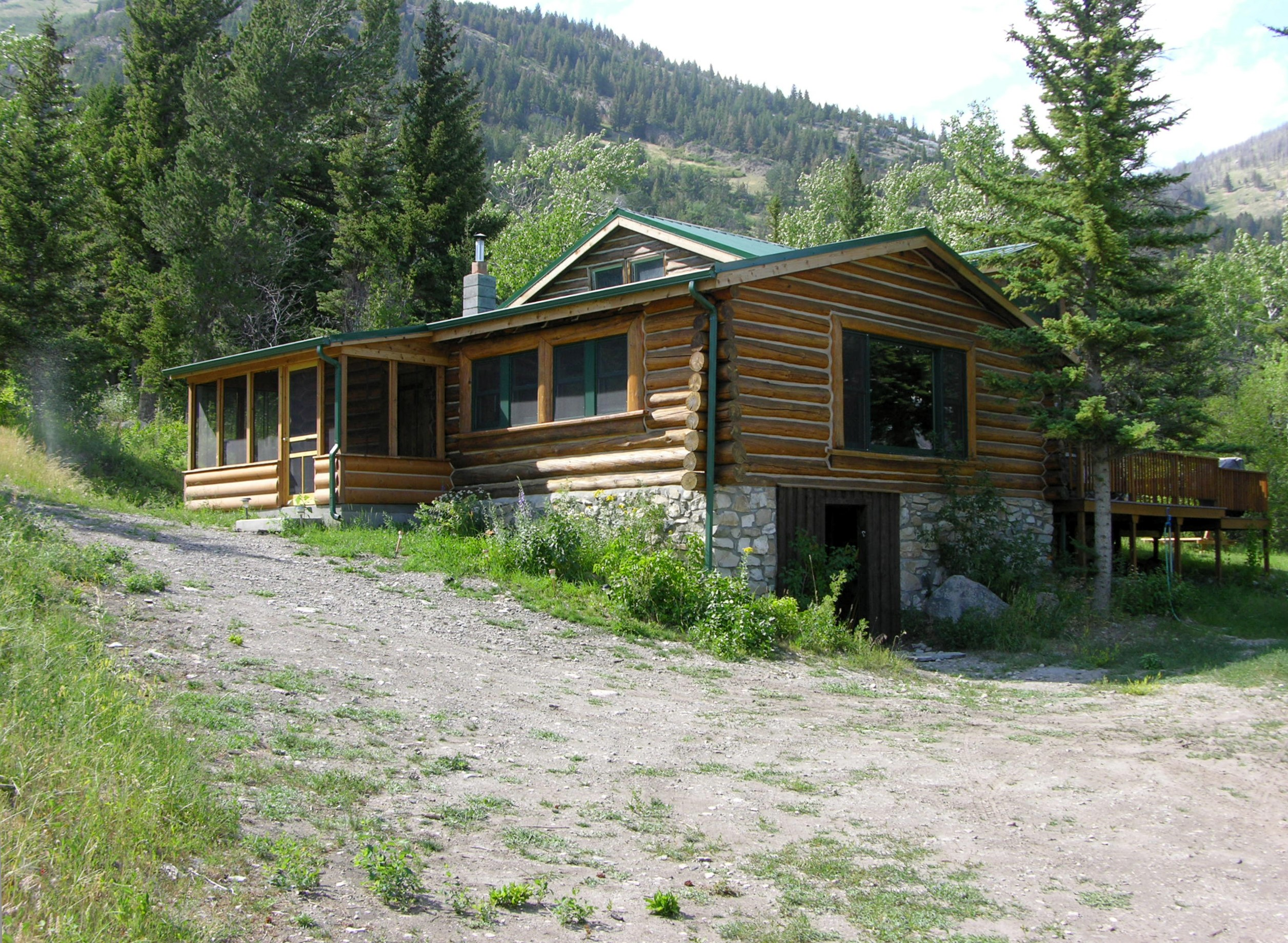 rentals cabin s mountainside cabins montana honey honeys properties