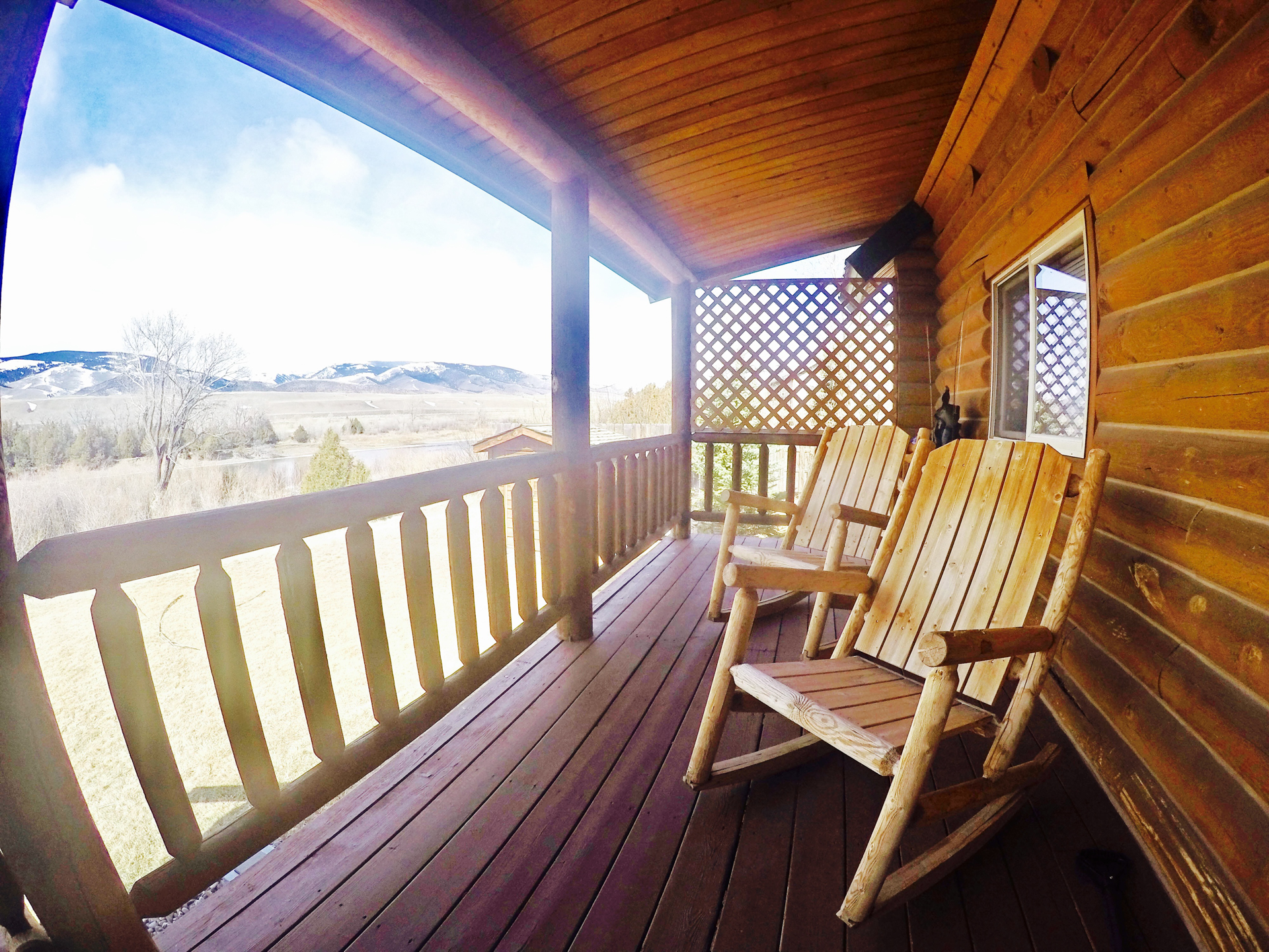 west yellowstone for cabin near cabins log national rentals of sale new park