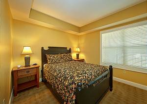 second bedroom pigeon forge condo