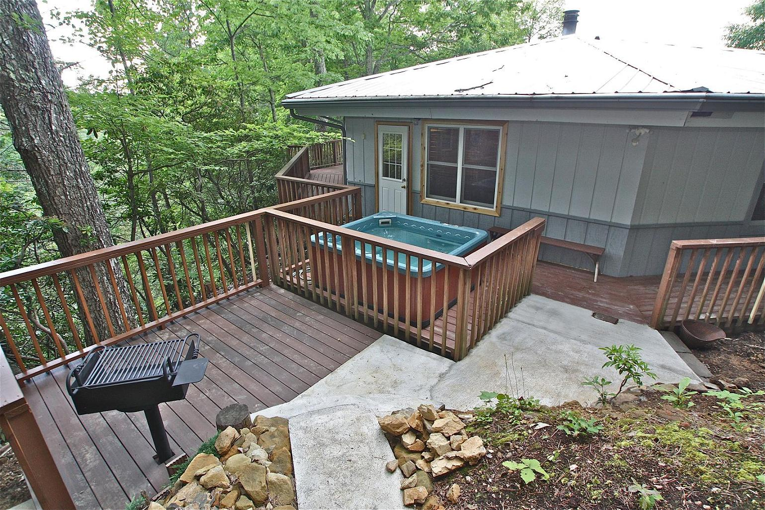 le rendezvous a 3 bedroom cabin in gatlinburg tennessee