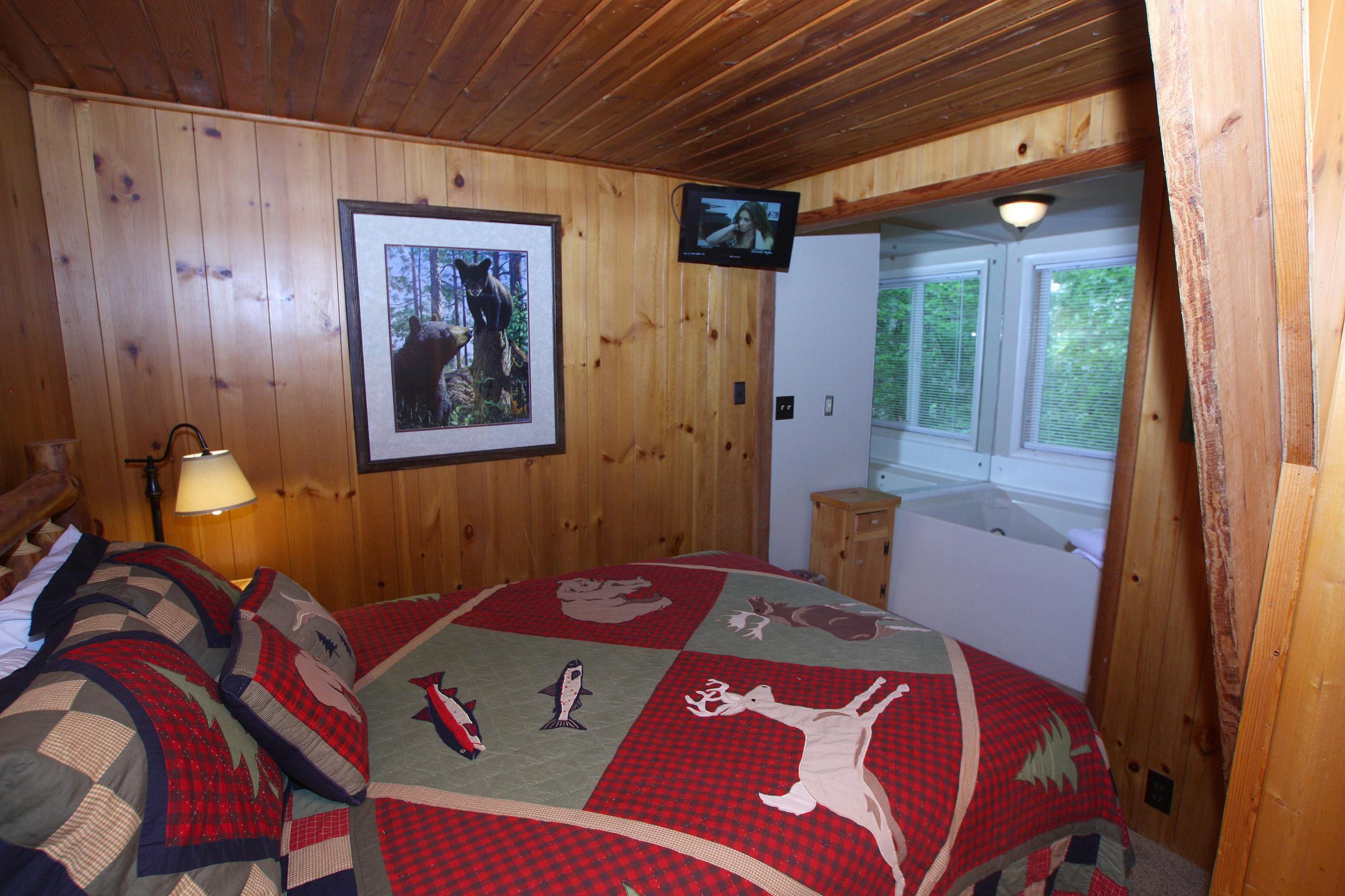 pinetop a 1 bedroom cabin in gatlinburg tennessee mountain laurel