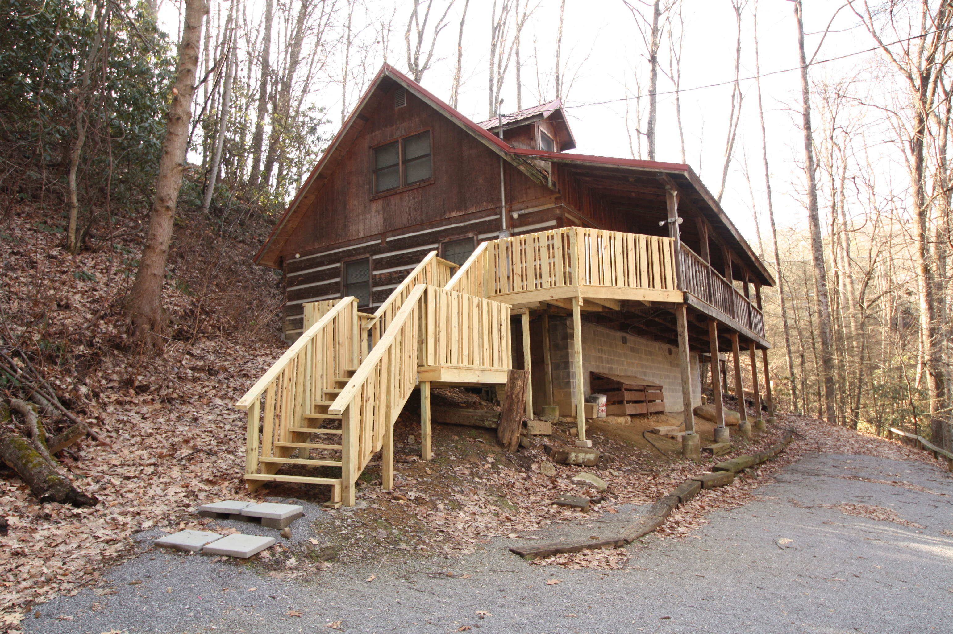 bedroom cabin rentals in gatlinburg tn mtn laurel chalets