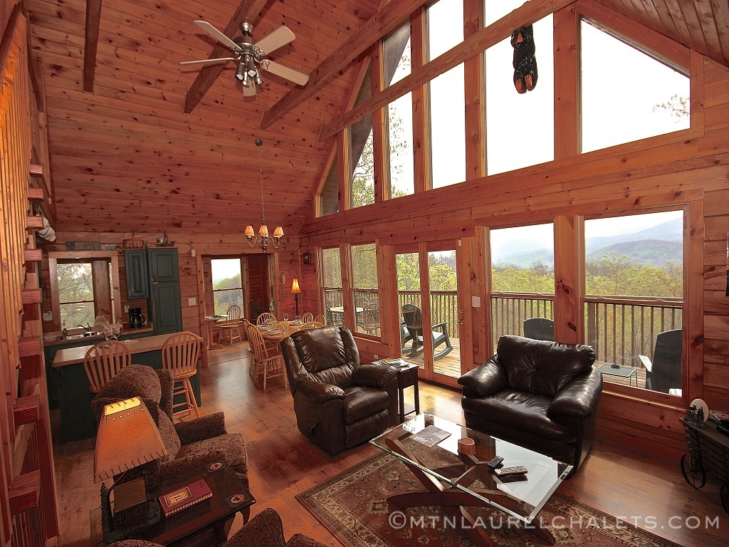 Morningside a 4 bedroom cabin in gatlinburg tennessee - 4 bedroom cabins in gatlinburg tn ...