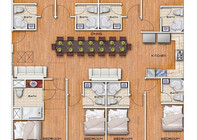 unit floor plan