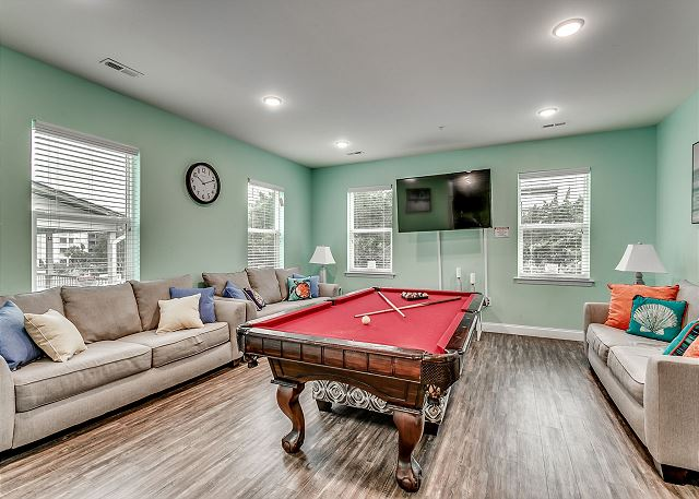 living/game room