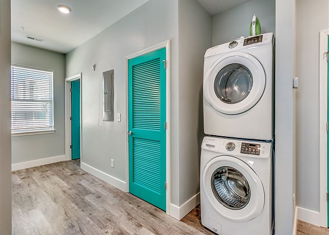 2nd floor washer and dryer