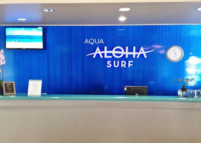 Aloha Surf 709 Waikiki Vacation Rental Details