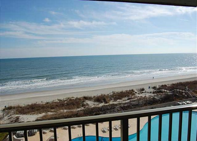 Myrtle Beach Resort A503 | 1 BR Condo with Stunning Ocean Front View