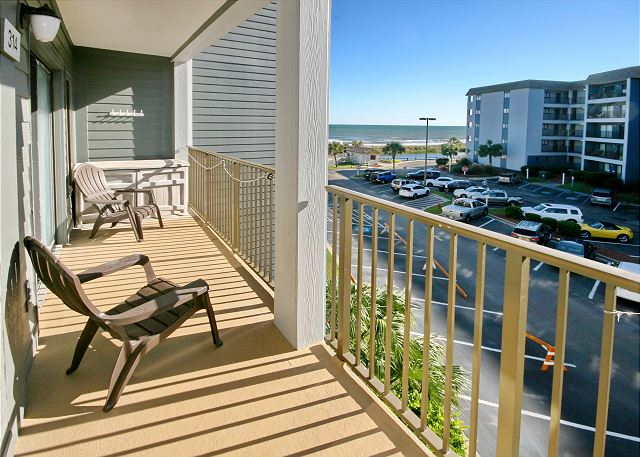 Myrtle Beach Resort A314 | Lovely Condo with Nice Ocean View.