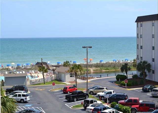 Myrtle Beach Resort A420 | Cozy Condo with Nice Ocean View