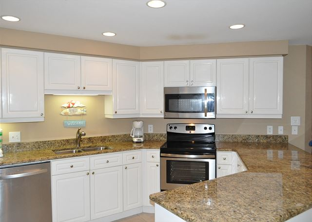 Upgraded Kitchen Stainless Steel Appliances
