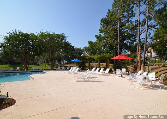 Beachwalk Villas pool